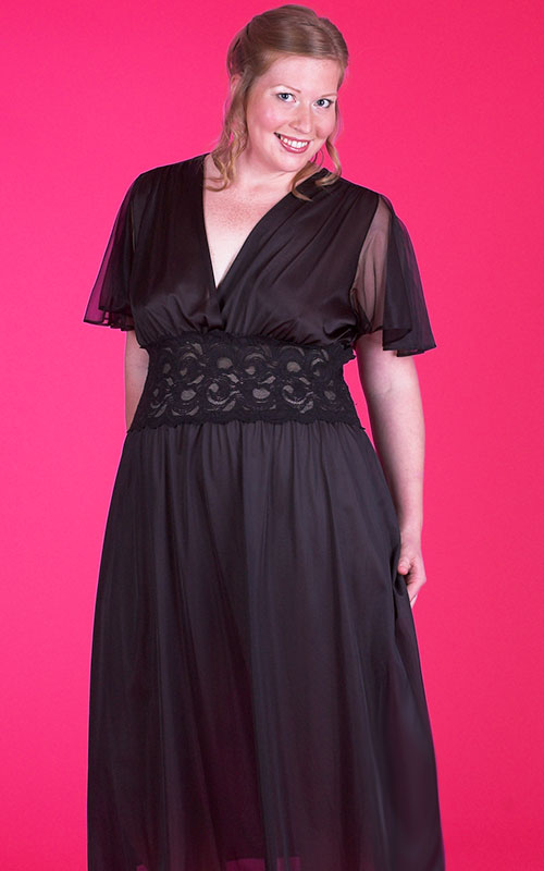 Plus size long nightgowns sexy