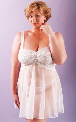 Wedding Belle Bridal Babydoll Set