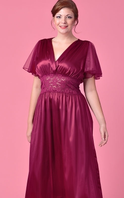 Burgundy Captivating Nightgown