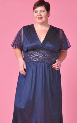 Navy Captivating Nightgown