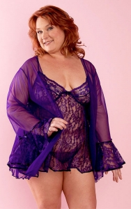 Sugar Plum Babydoll Set