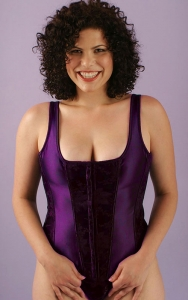 Purple Renaissance Corset Set