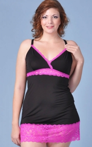 Pink Delight Chemise