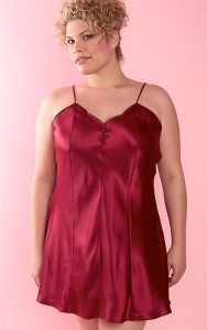 Our Beautiful Burgundy Chemise