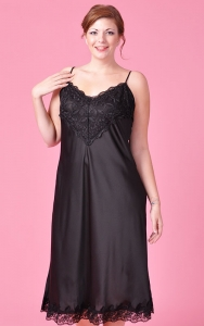 Angelic Black Nightgown